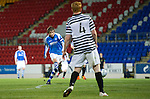 St Johnstone v Queens Park....25.09.12      Scottish Communities League Cup 3rd Round.Murray Davidson scores to make it 3-1.Picture by Graeme Hart..Copyright Perthshire Picture Agency.Tel: 01738 623350  Mobile: 07990 594431