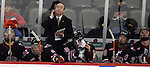 2/6/04 Omaha, NE University of Nebraska at Omaha Head Coach MIke Kemp.<br /> (Chris Machian/Prairie Pixel Group)