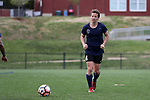 CHARLOTTE, NC - MARCH 25: Courage's Elizabeth Eddy. The NWSL's North Carolina Courage played their first preseason game against the University of Tennessee Volunteers on March 25, 2017, at Queens University of Charlotte Sports Complex in Charlotte, NC. The Courage won the match 3-0.