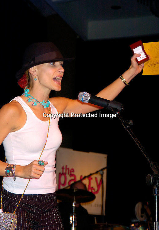 Kelley Menighan Hensley ..at the 10th Annual Daytime Television Salutes St. Jude Children's Research Hospital Benefit on October 8, 2004 at the Marriott Marquis Hotel in New York City...Photo by Robin Platzer, Twin Images