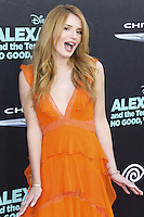 HOLLYWOOD, LOS ANGELES, CA, USA - OCTOBER 06: Bella Thorne arrives at the World Premiere Of Disney's 'Alexander And The Terrible, Horrible, No Good, Very Bad Day' held at the El Capitan Theatre on October 6, 2014 in Hollywood, Los Angeles, California, United States. (Photo by Xavier Collin/Celebrity Monitor)