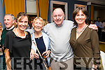 Mary Kelliher, Norris Roche, Seamus Roche and Angela Myers pictured at the John Mitchel's Strictly Come Dancing at the Ballygarry House Hotel on Sunday night.