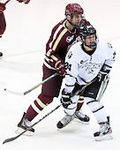 Patrick Wey (BC - 6), Noel Acciari (PC - 24) - The Providence College Friars tied the visiting Boston College Eagles 3-3 on Friday, December 7, 2012, at Schneider Arena in Providence, Rhode Island.