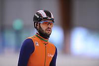 SCHAATSEN: LEEUWARDEN: 08-10-2015, Elfstedenhal, shorttrack time trial, Sjinkie Knegt, ©foto Martin de Jong