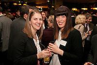 Lisa Huckerby of RSM Tenon (left) with Gateley's Lorna Biondi