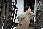 A Roma woman in Backo Gradiske, Serbia.