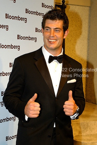 "Washington, DC - May 1, 2004 -- Jesse Palmer, ""The Bachelor"",  who also plays for the New York Giants, arrives for the Bloomberg party following the 2004 White House Correspondents Association Dinner in Washington, D.C. on May 1, 2004..Credit: Ron Sachs / CNP.(RESTRICTION: No New York Metro or other Newspapers within a 75 mile radius of New York City)"