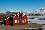 Ny Alesund Scientific Research Base, Svalbard