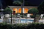 USA, Florida, Orlando. The jacuzzi at  Rosen Shingle Creek Resort.
