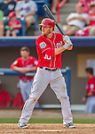 3 March 2016: Washington Nationals infielder Stephen Drew in action during a Spring Training pre-season game against the New York Mets at Space Coast Stadium in Viera, Florida. The Nationals defeated the Mets 9-4 in Grapefruit League play. Mandatory Credit: Ed Wolfstein Photo *** RAW (NEF) Image File Available ***