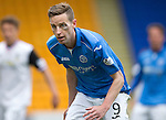 St Johnstone v Inverness Caley Thistle...02.05.15   SPFL<br /> Steven MacLean sporting his shiner<br /> Picture by Graeme Hart.<br /> Copyright Perthshire Picture Agency<br /> Tel: 01738 623350  Mobile: 07990 594431
