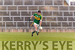 Paul Geaney Kerry in action against  Limerick in the Final of the McGrath Cup at the Gaelic Grounds on Sunday.