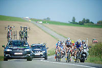 6 man breakaway group<br /> <br /> Grand Prix de Wallonie 2014