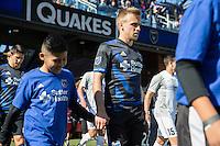 SAN JOSE, CA - FEBRUARY 25, 2017: The San Jose Earthquakes defeated Sacramento Republic FC 4-1 during a preseason match at Avaya Stadium.
