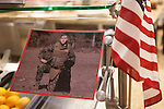 Photographs of veterans could be seen around Nelson Commons during the Veteran's Day Rememberence on November 11, 2015. Photo by Kaitlin Owens