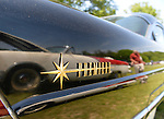 Old Westbury, New York, United States. 7th June 2015. A black 1956 Lincoln Premiere, owned by John Severino of Merrick, is featured at the 50th Annual Spring Meet Car Show sponsored by Greater New York Region Antique Automobile Club of America. Over 1,000 antique, classic, and custom cars participated at the popular Long Island vintage car show held at historic Old Westbury Gardens.