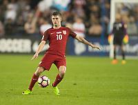 San Jose, CA - March 24, 2017: The U.S. Men's National team go on to defeat Honduras 6-0 during their 2018 FIFA World Cup Qualifying Hexagonal match at Avaya Stadium.