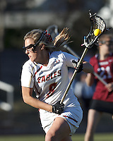 Boston College attacker Covie Stanwick (8) on the attack.