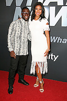 PHILADELPHIA, PA- OCTOBER 12: Eniko Parrish and actor/comedian Kevin Hart attend the 'Kevin Hart: What Now?' Philadelphia screening at the Riverview Theater in Philadelphia, Pennsylvania on October 12, 2016  photo credit  Star Shooter/MediaPunch