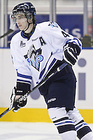 QMJHL (LHJMQ) hockey profile photo on Rimouski Oceanic Ryan MacKinnon October 6, 2012 at the Colisee Pepsi in Quebec city.