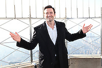 JAN 23 Hugh Jackman And Julie Bishop Light The Empire State Building For Australia Day