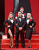 The Songbook of Judy Garland <br /> at The New Wimbledon Theatre, London, Great Britain <br /> press photocall <br /> 17th June 2015 <br /> <br /> Louise Dearman <br /> <br /> Rachel Stanley <br /> <br /> Georgina Hagen<br /> <br /> Ray Quinn <br /> <br /> Boyfriends<br /> Alex Mann <br /> Andrew Hamshire<br /> Pip Hersee<br /> Luke Field-Wright<br /> Sam Stanley <br /> Jacob Holme <br /> <br /> <br /> Photograph by Elliott Franks <br /> Image licensed to Elliott Franks Photography Services