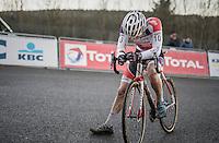 David van der Poel  (NED/Beobank - Corendon) post-finish<br /> <br /> 2016 CX Superprestige Spa-Francorchamps (BEL)