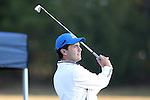 30 October 2016: Georgia State University's Nick Budd. The First  and Second Rounds of the 2016 Bridgestone Golf Collegiate NCAA Men's Golf Tournament hosted by the University of North Carolina Greensboro Spartans was held on the West Course at the Grandover Resort in Greensboro, North Carolina.