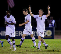 Matthew Dunn. The United States defeated Canada, 3-0, during the final game of the CONCACAF Men's Under 17 Championship at Catherine Hall Stadium in Montego Bay, Jamaica.