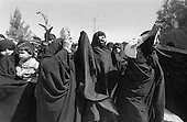 Iran - 12/09/1978 -demonstration in beeshte zarah cemetery after the Black friday killing during  a demonstration in Jaleh square  Tehran - Iran  +