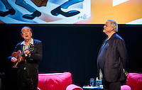 LAS VEGAS, NV - November 18, 2016: ***HOUSE COVERAGE*** Eric Idle and John Cleese pictured as John Cleese & Eric Idle: Together Again At Last…For The Very First Time at The Venetian Theater at The Venetian Las Vegas in Las Vegas, NV on November 18, 2016. Credit: Erik Kabik Photography/ MediaPunch