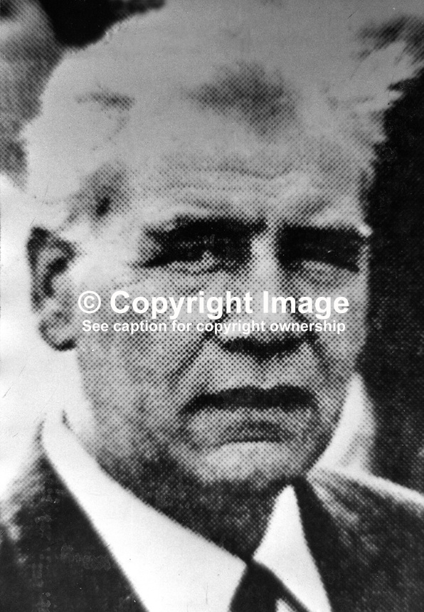 Joseph B O'Hagan, alleged Provisional IRA Quartermaster, N Ireland, who was recaptured in Dublin following his escape by helicopter from Mountjoy Prison, Dublin, 197501180043..Copyright Image from Victor Patterson, 54 Dorchester Park, Belfast, N Ireland, BT9 6RJ...Tel: +44 28 9066 1296.Mob: +44 7802 353836.Fax: +7092 356429.Email: victorpatterson@mac.com..IMPORTANT: No unauthorised use may be made of this image nor can it be passed on to a third party without the written permission (letter, fax or email) of the copyright owner, Victor Patterson. A fee should be agreed in advance of publication. On request a copy of my terms and conditions in PDF or Word format will be emailed to you. This image is for editorial use only as no model release form is available.