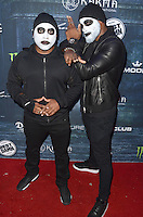 LOS ANGELES, CA - OCTOBER 22: Daymond John aand Tyson Beckford at the Maxim Halloween at The Shrine Expo Hall on October 22, 2016 in Los Angeles, California. Credit: David Edwards/MediaPunch