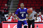 03 November 2016: Lynn's Marquan Botley. The North Carolina State University Wolfpack hosted the Lynn University Fighting Knights at PNC Arena in Raleigh, North Carolina in a 2016-17 NCAA Division I Men's Basketball exhibition game. NC State won the game 100-66.