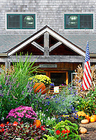 Morning Glory Farm stand, Edgartown, Martha's Vineyard, Massachusetts, USA