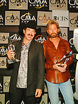 Brooks & Dunn .at the 38th CMA (Country Music Association) in Nashville, Nov 9th, 2004. Photos by Chris Walter.