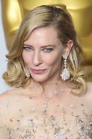 HOLLYWOOD, LOS ANGELES, CA, USA - MARCH 02: Cate Blanchett at the 86th Annual Academy Awards - Press Room held at Dolby Theatre on March 2, 2014 in Hollywood, Los Angeles, California, United States. (Photo by Xavier Collin/Celebrity Monitor)