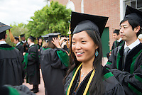 Kuang-Ning Huang. Commencement, class of 2013.