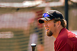10 March 2006: Jeff Bagwell, first baseman for the Houston Astros, prior to a Spring Training game against the Washington Nationals. The Astros defeated the Nationals 8-6 at Osceola County Stadium, in Kissimmee, Florida...Mandatory Photo Credit: Ed Wolfstein..
