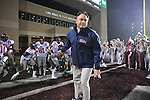 Ole Miss head coach Houston Nutt vs. Mississippi State in Starkville, Miss. on Saturday, November 26, 2011. Mississippi State won 31-3.