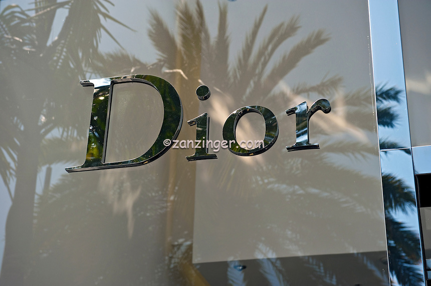 Dior Rodeo Drive, Beverly Hills, CA, Luxury, Boutique,<br /> designer label, fashion, couture, Window, Display, famous, Celebrity, retailers, California's best, shops, stores,