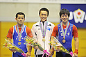 (L to R) Katsuhiko Uechi, Masakazu Ioroi, Yosuke Nakamura, JUNE 24th, 2011 - Weightlifting : All Japan Weightlifting Championship, Men's -62kg at Saitama memorial gymnasium, Saitama, Japan. (Photo by Atsushi Tomura/AFLO SPORT) [1035].