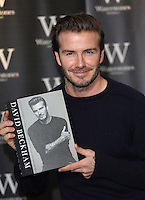 UK: David Beckham Book Launch