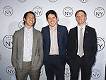 "Kickstarter guys attend the ""Made in NY""  Awards at Gracie Mansion on June 4, 2012 in New York City."