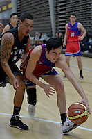 Action from the Basketball Boys Premier - Pohlen Cup at ASB Sports Centre, Kilbirnie, Wellington, New Zealand on Friday 30 May 2014. <br /> Photo by Masanori Udagawa. <br /> www.photowellington.photoshelter.com.