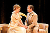 An Ideal Husband by Oscar Wilde<br /> at Festival Theatre Chichester, Great Britain <br /> 25th November 2014 <br /> <br /> directed by Rachel Kavanaugh <br /> <br /> <br /> Jemma Redgrave as Mrs Cheveley <br /> <br /> Jamie Glover as Lord Goring <br /> <br /> <br /> <br /> <br /> <br /> <br /> Photograph by Elliott Franks <br /> Image licensed to Elliott Franks Photography Services