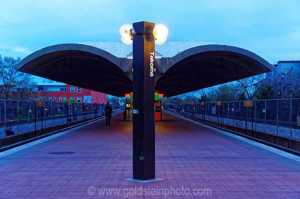 Takoma Metro Station