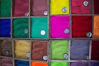 Colourful Dyes at Pashupatinath, Nepal