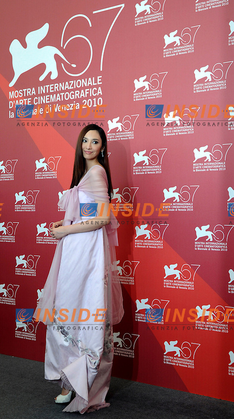 "- ""67 Mostra Internazionale D'Arte Cinematografica"". Friday, 2010 September 03, Venice ITALY..- In The Picture: The actress Pace Wu at the photocall for the film ""JIANYU (REIGN ASSASSNS)""...Photo STEFANO MICOZZI / Insidefoto"