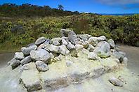 Sulpher Banks or Ha`akulamanu, Hawaii Volcanoes National Park, Kilauea, Big Island, Hawaii..